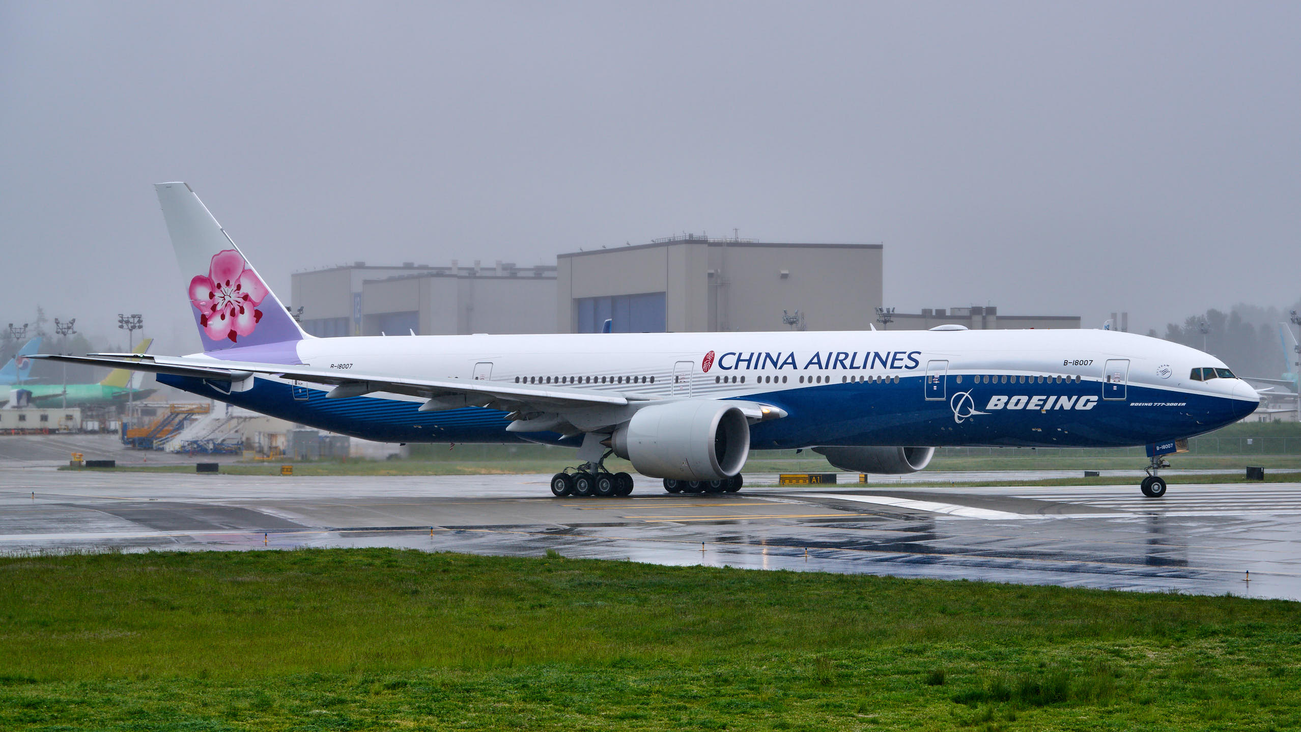China Airlines: Boeing Livery