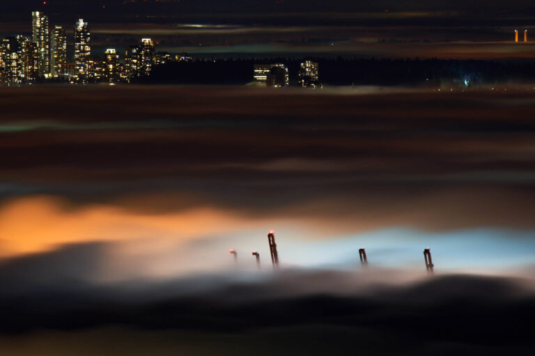 A Foggy Night in Vancouver, Canada