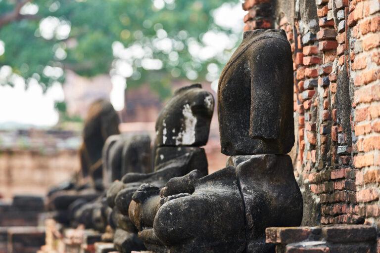 泰國:大成古都遺址