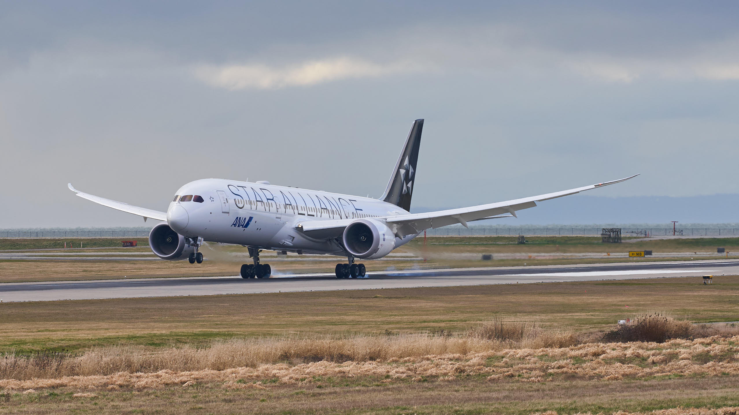"ANA: Boeing 787-9 with ""Star Alliance"" Livery"