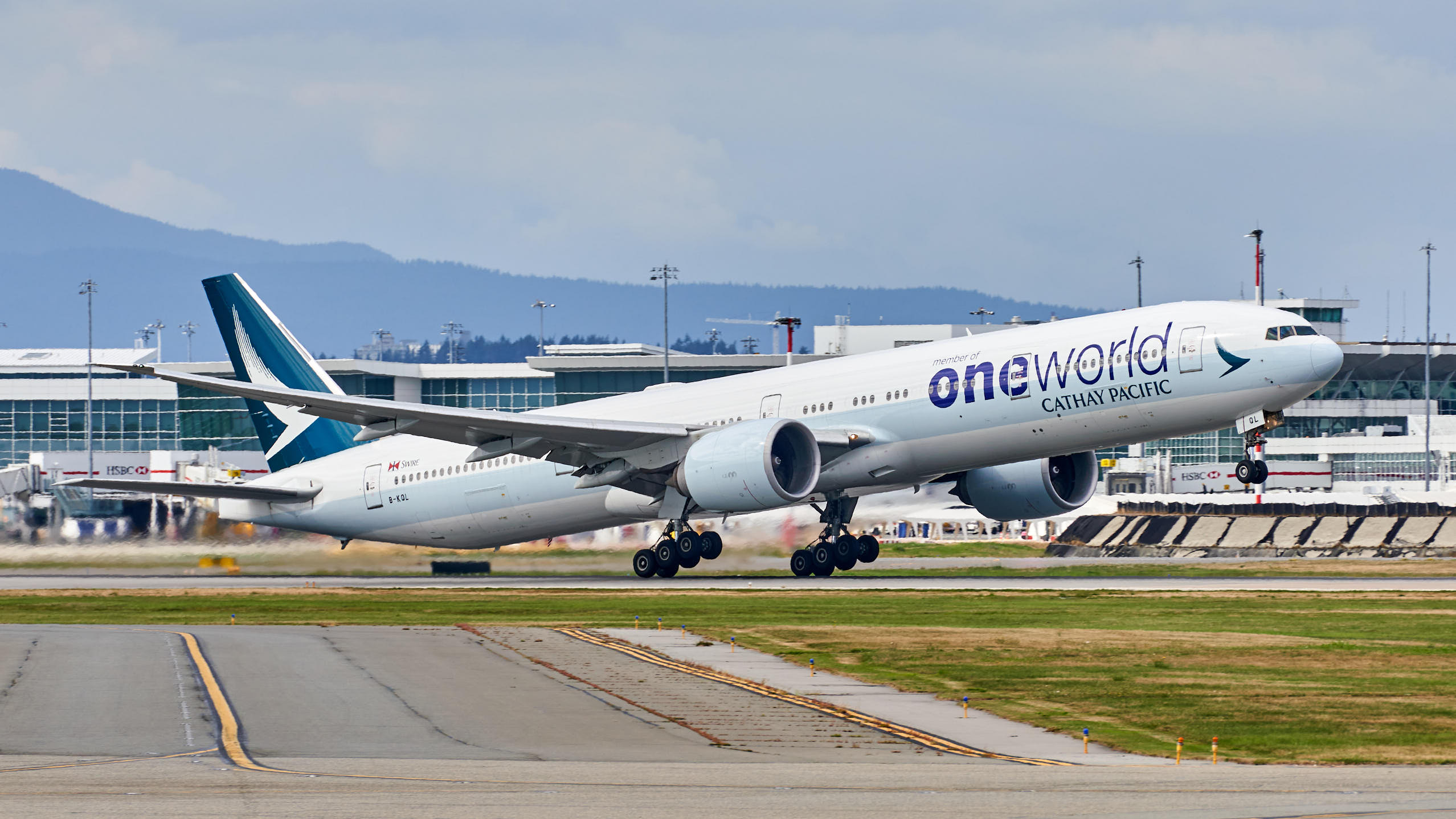 "Cathay Pacific: ""Oneworld"" Livery"