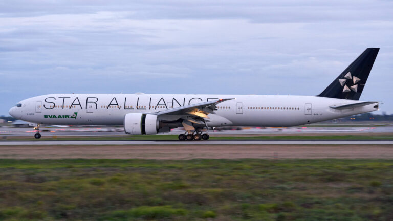 "Eva Airways:  ""Star Alliance"" Livery"