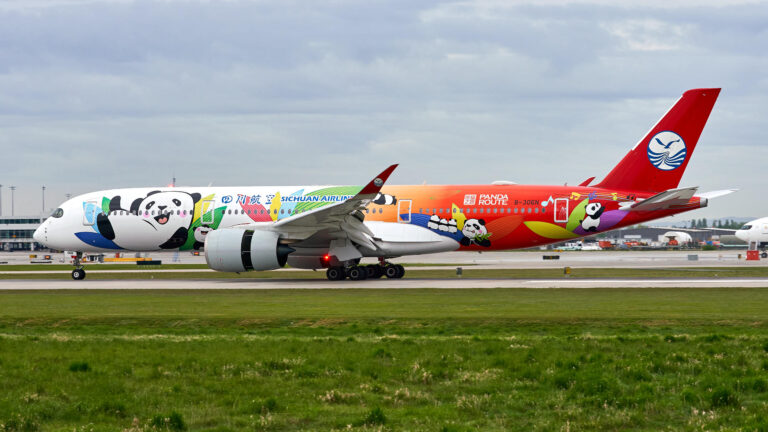 "Sichuan Airlines: ""Panda Route"" Livery"
