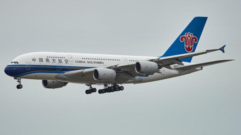 中国南方航空:空客A380-800 (上)
