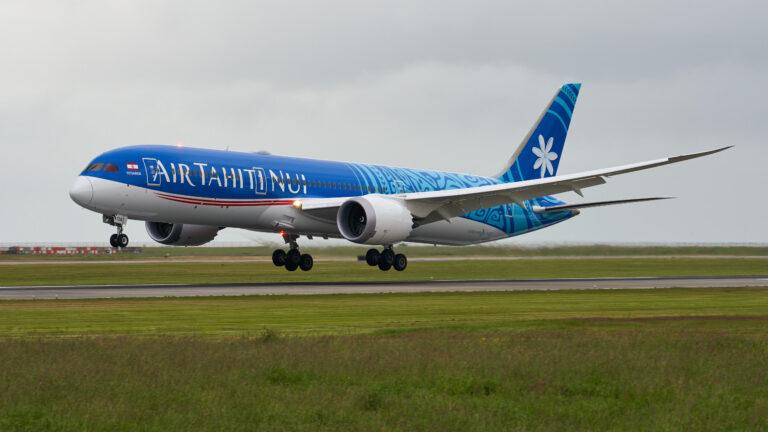 大溪地航空:波音787-9