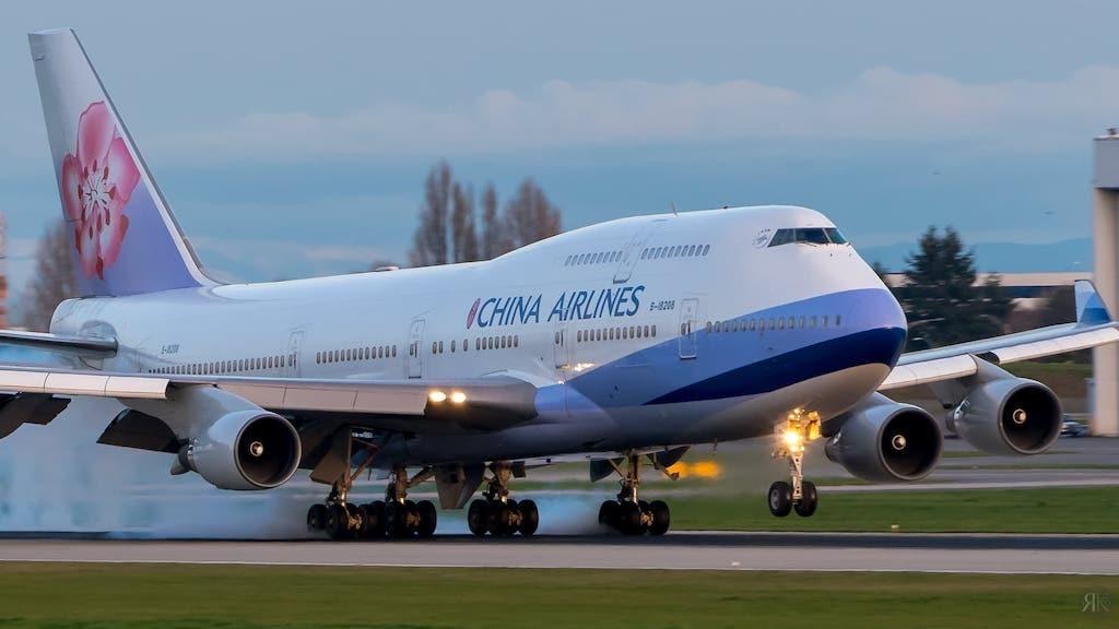 中华航空: 波音747-400曾今的国际商务舱 1