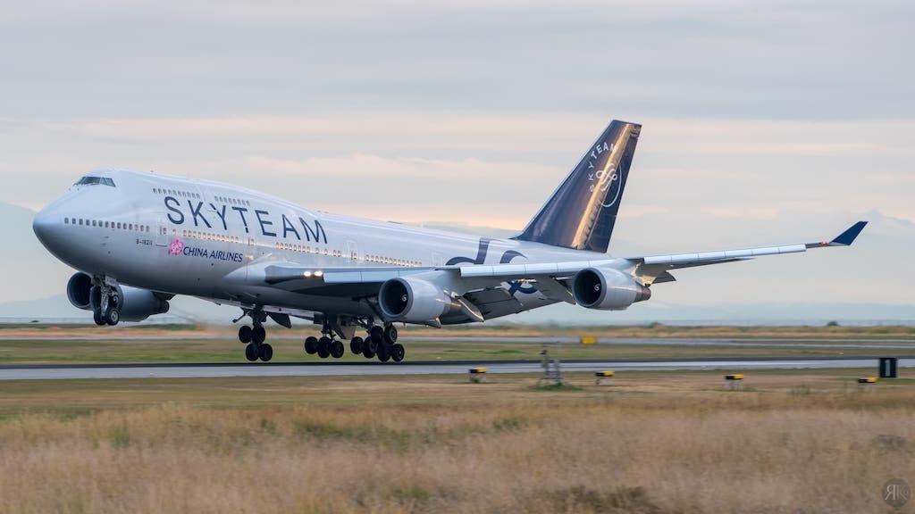 中華航空: 波音747-400曾經的國際頭等艙 1