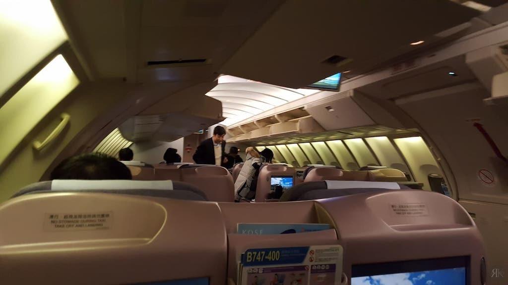 中华航空: 波音747-400曾今的国际商务舱 3