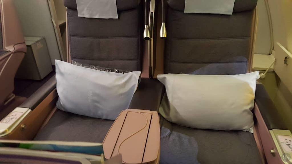 中华航空: 波音747-400曾今的国际商务舱 5