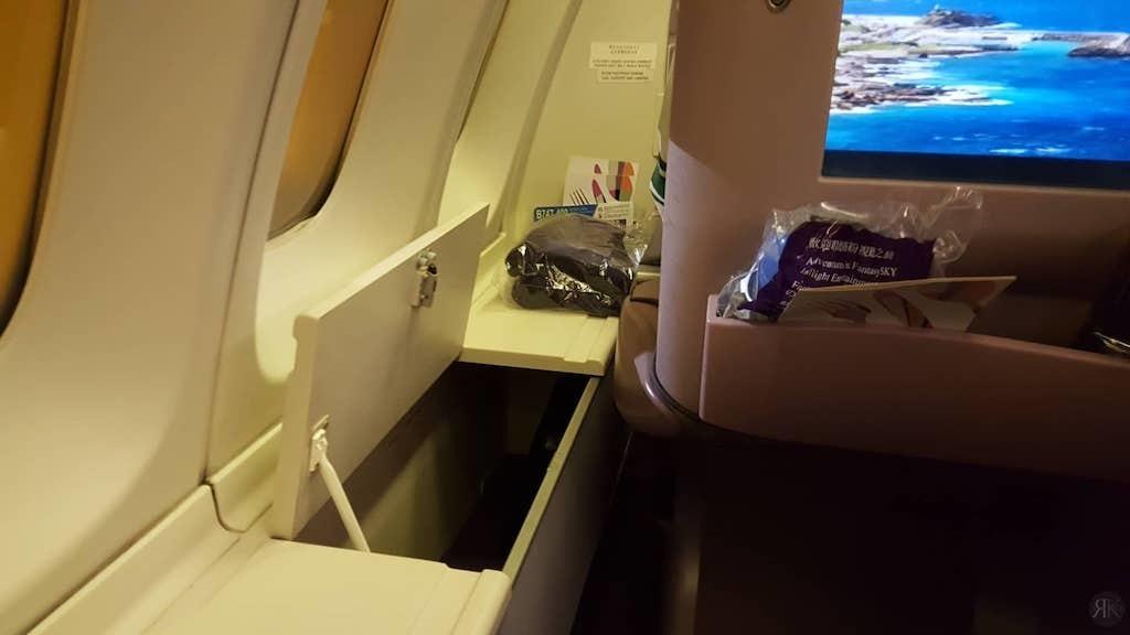 中华航空: 波音747-400曾今的国际商务舱 6