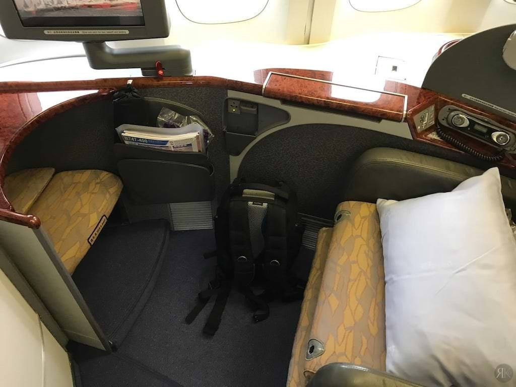 中华航空: 波音747-400曾经的国际头等舱 4