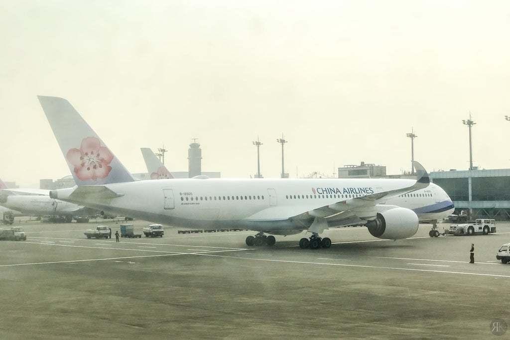 中華航空: 波音747-400曾經的國際頭等艙 8
