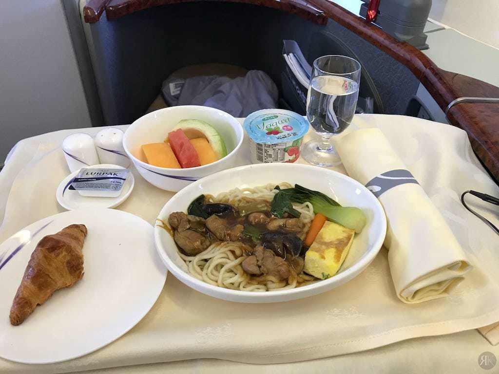 中華航空: 波音747-400曾經的國際頭等艙 10
