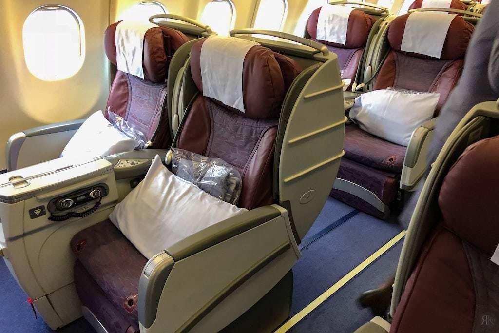 中華航空: 空客A330-300 亞洲區域商務艙 9