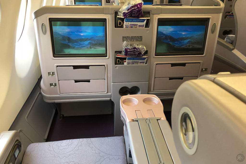 中華航空: 空客A330-300 亞洲區域商務艙 12
