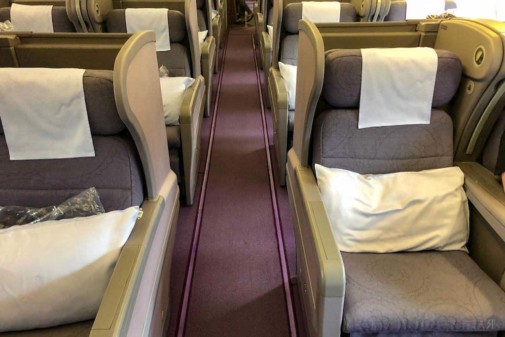 中華航空: 空客A330-300 亞洲區域商務艙 10