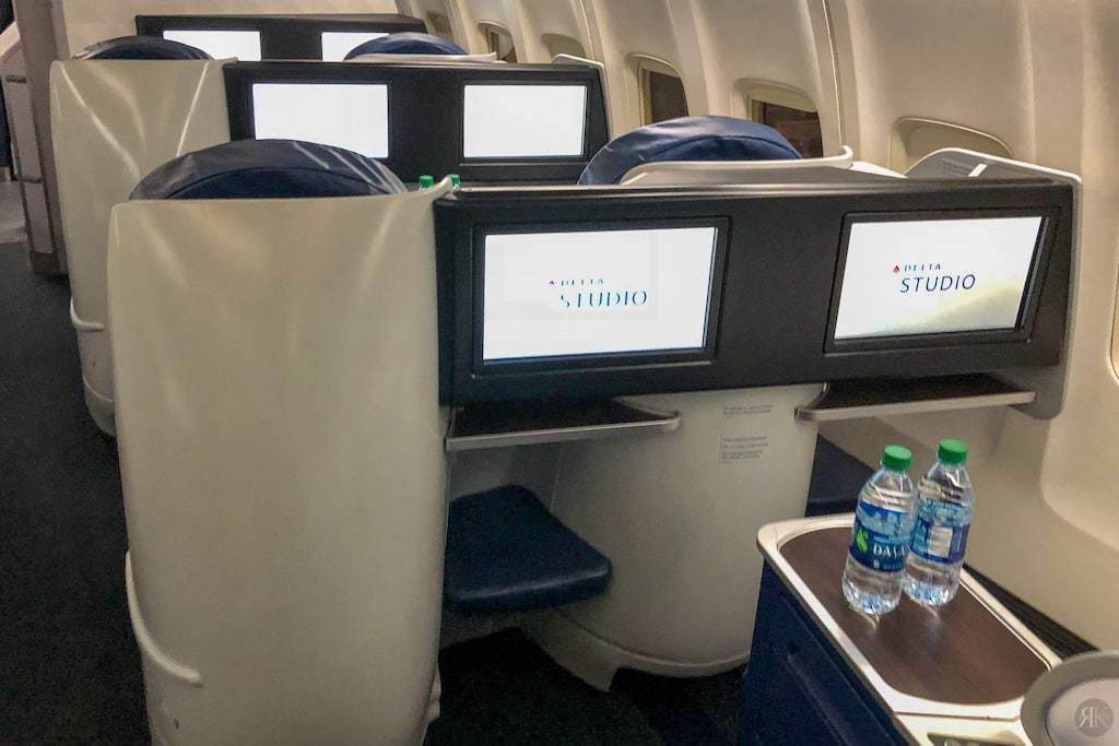 Delta: Boeing 757-200 Business Class (SFO-JFK) 10