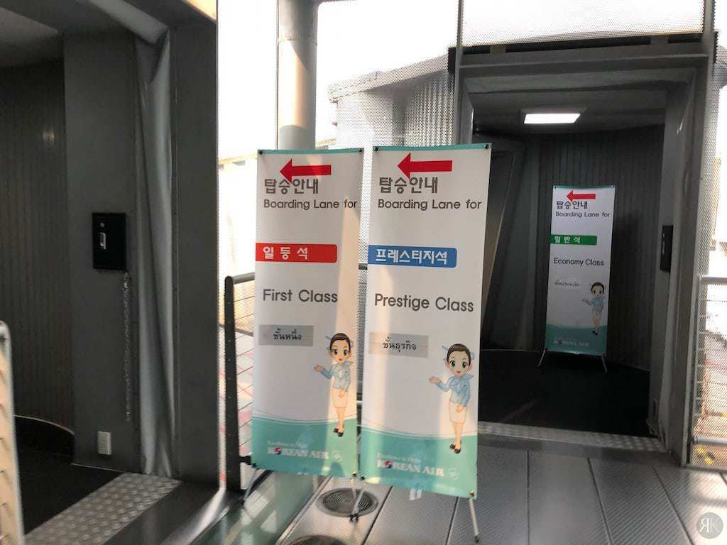 Korean Air: Business Class (BKK-ICN-YVR) 2