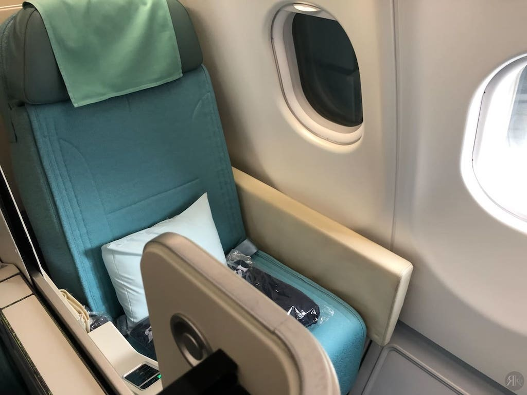 Korean Air: Business Class (BKK-ICN-YVR) 3