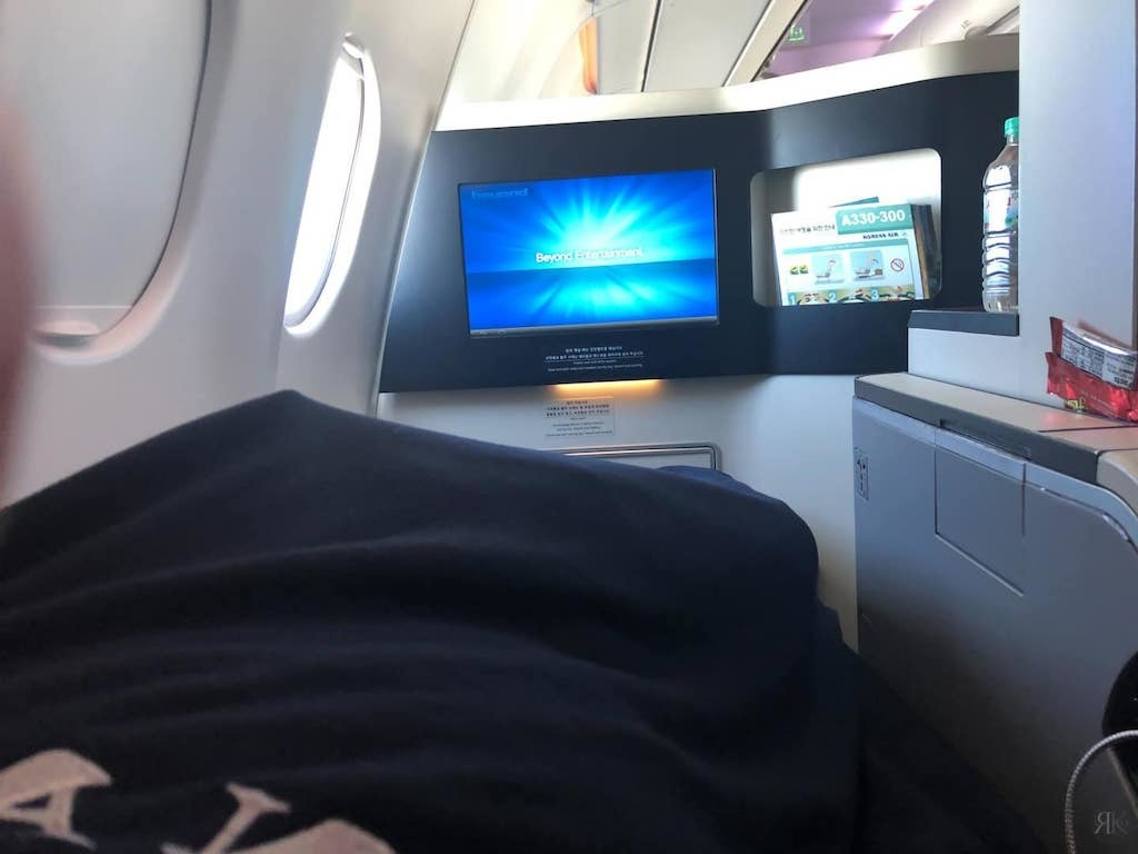 Korean Air: Business Class (BKK-ICN-YVR) 21