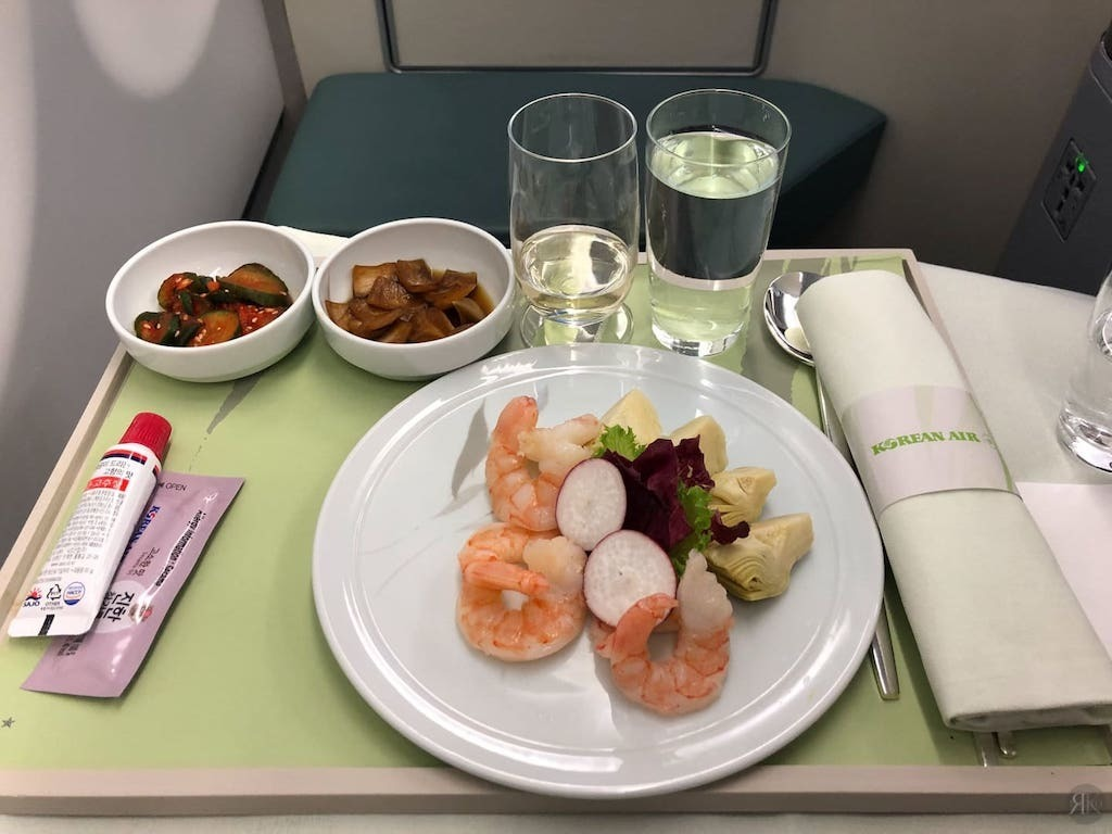 Korean Air: Business Class (BKK-ICN-YVR) 15