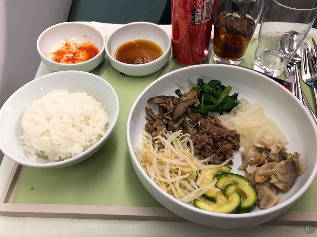 Korean Air: Business Class (BKK-ICN-YVR) 19