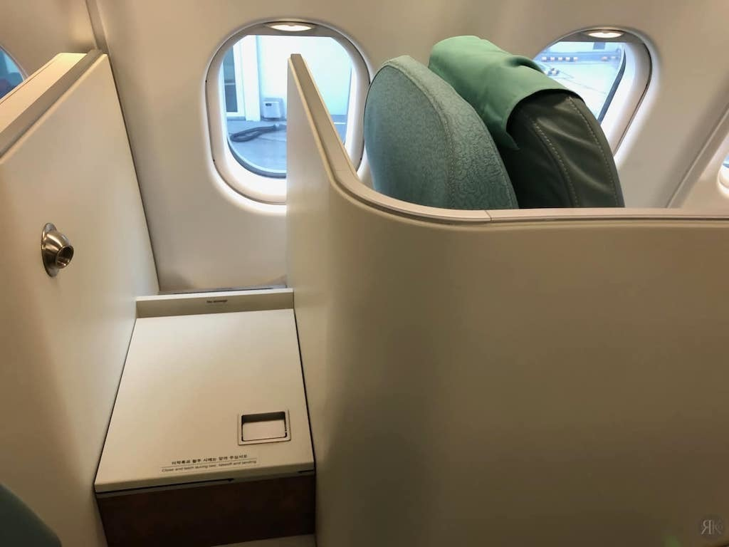 Korean Air: Business Class (BKK-ICN-YVR) 9