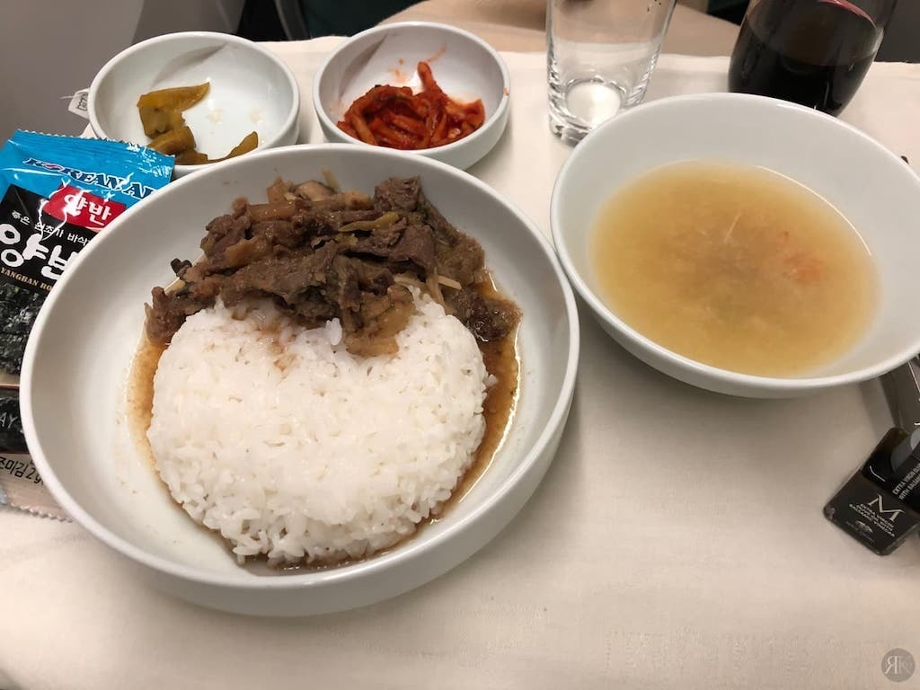 Korean Air: Business Class (BKK-ICN-YVR) 38