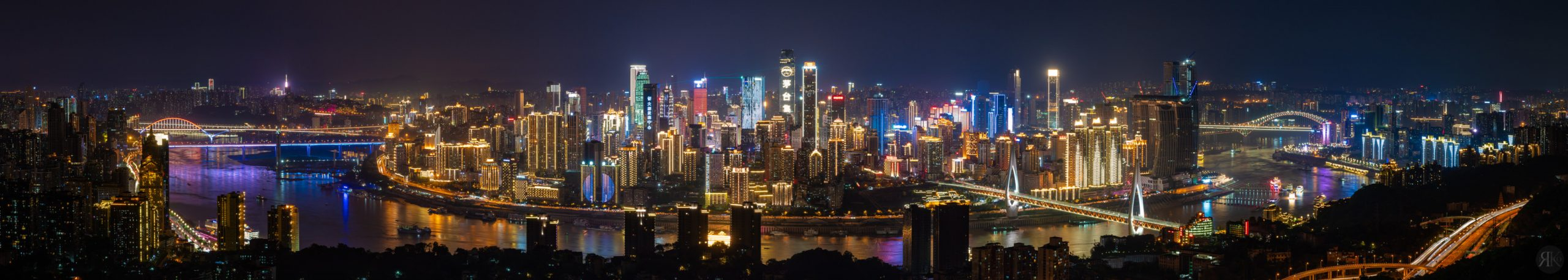 中國:重慶夜景 1