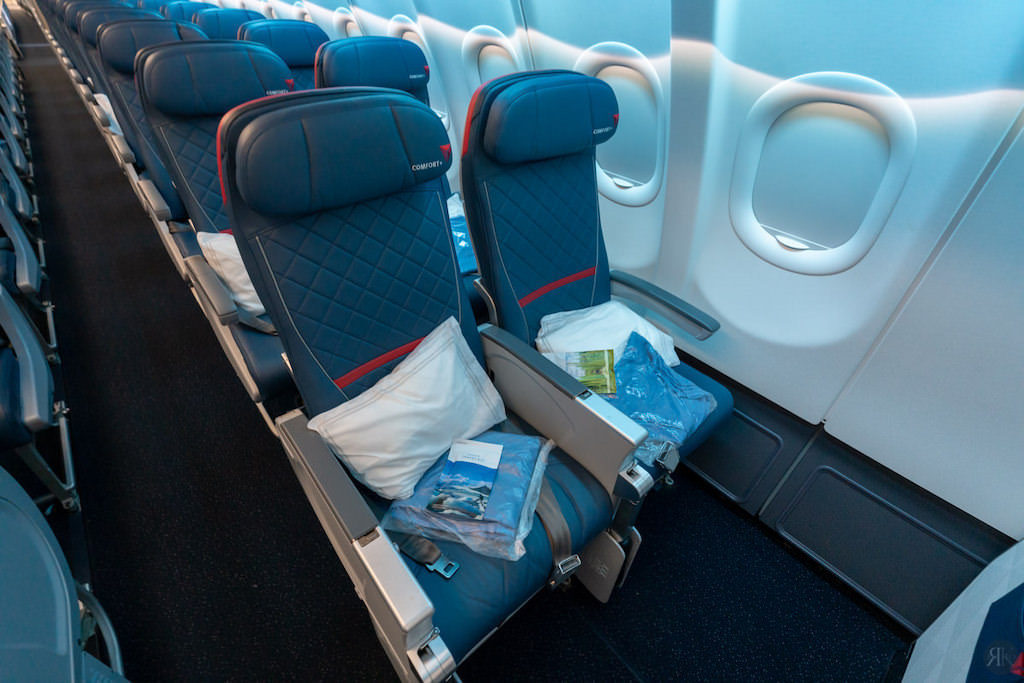 Delta: A330-900neo Business Class (SEA-PVG) 20