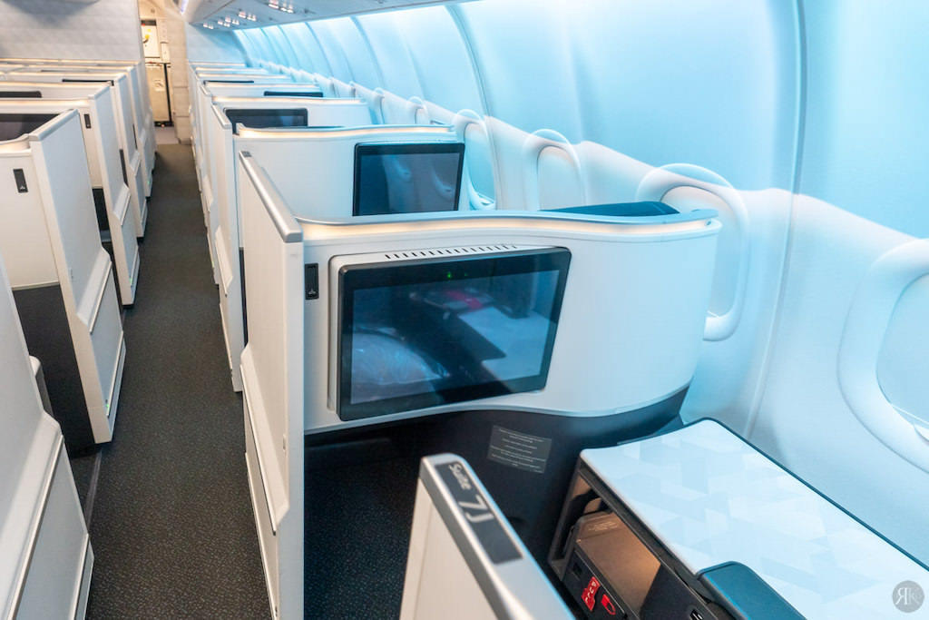 Delta: A330-900neo Business Class (SEA-PVG) 25