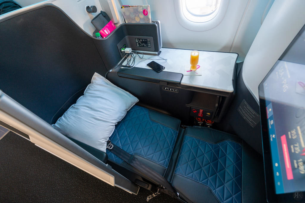 Delta: A330-900neo Business Class (SEA-PVG) 31