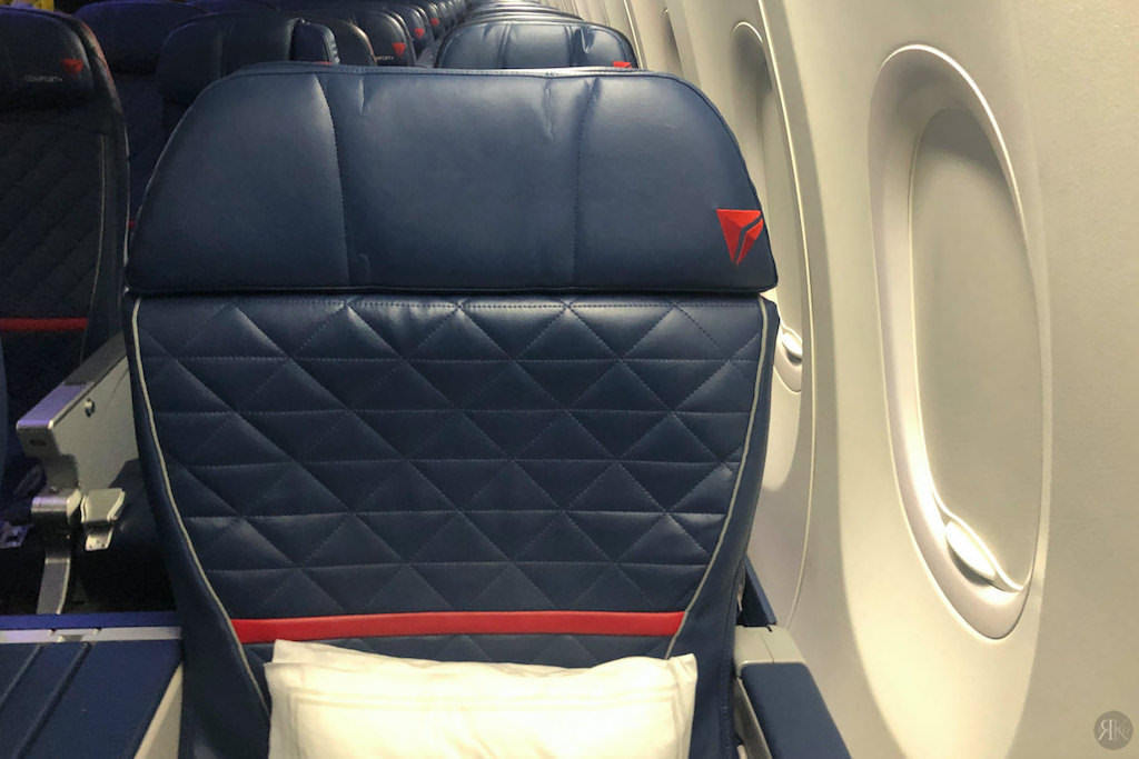 Delta: A330-900neo Business Class (SEA-PVG) 2