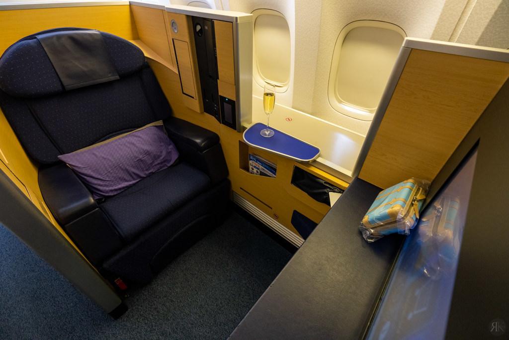 全日空:波音777-300ER頭等艙 (LAX-NRT) 14