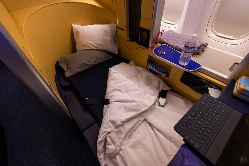 全日空:波音777-300ER頭等艙 (LAX-NRT) 25