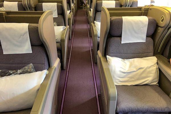 中華航空: 空客A330-300 亞洲區域商務艙