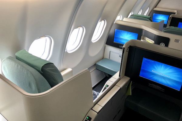 Korean Air: Business Class (BKK-ICN-YVR)